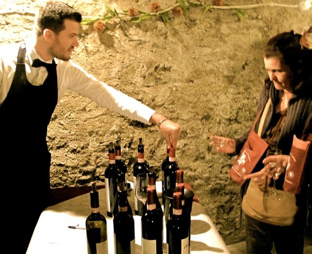 Wine Festival at Morbegno