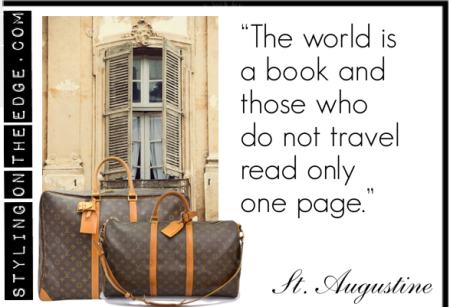 """""""The world is a book and those who do not travel read only one page"""""""