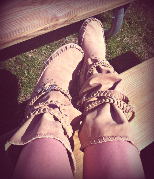 Native-American-Inspired Boots