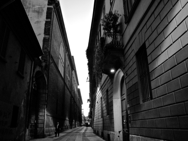 Milan In Black And White