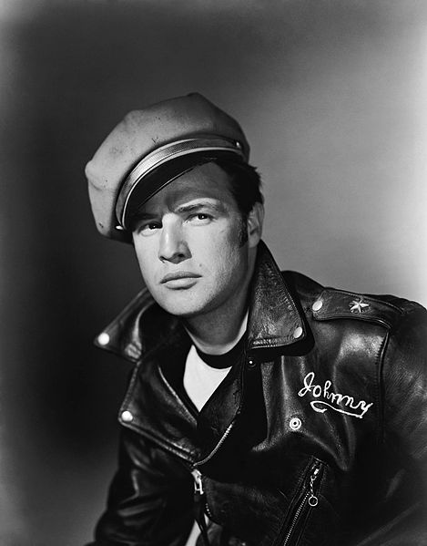 "Perfecto became extremely popular after the movie ""The Wild Ones"" (1953) played. It was associated with a powerful sex symbol— the ""bad boy"" image of Marlon Brando."