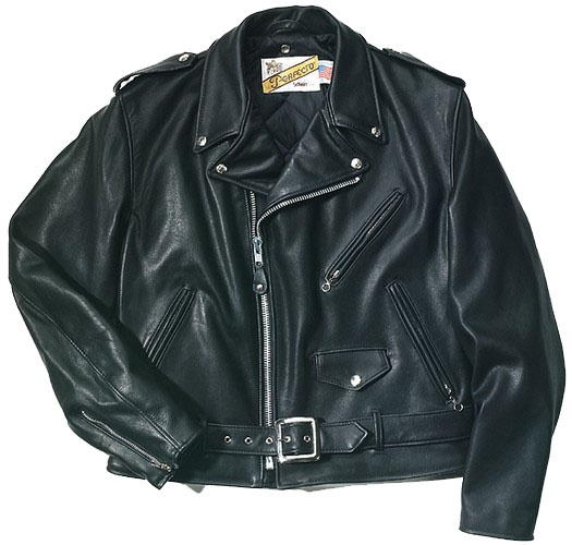 In 1913, two brothers, the sons of a Russian immigrant, pursued the American dream and started their own manufacturing company in the Lower East Side of Manhattan. Irving Schott designed the first leather motorcycle jacket in 1928. He named it the Perfecto after his favorite cigar. At that time, its retail price was $5.50 at a Long Island Harley-Davidson distributor.