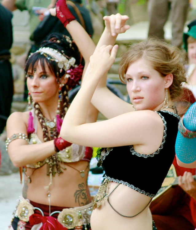 Bristol Renaissance Faire: Belly Dancers