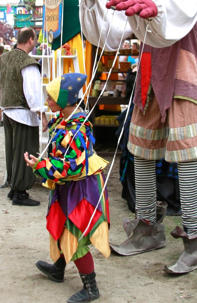 Bristol Renaissance Faire: Marionette