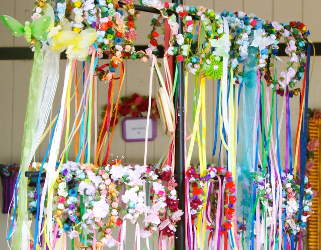 Bristol Renaissance Faire: Flower Bands
