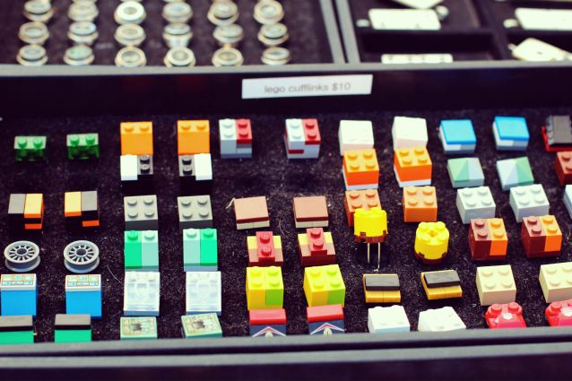 Lego-cufflinks-new-york-flea-market
