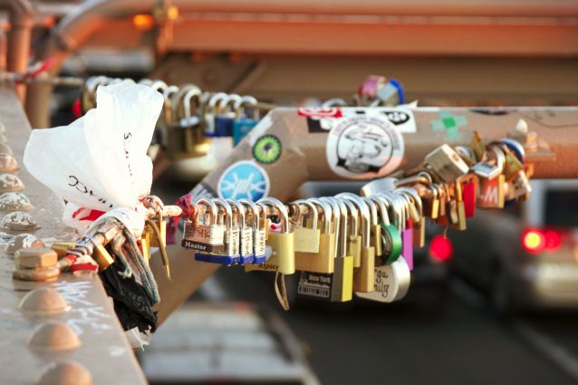 Love Locks, Brooklyn Bridge