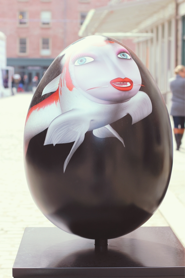 Koi_egg_Matthew_Weinstein_Visual_artist_egg120_new_york