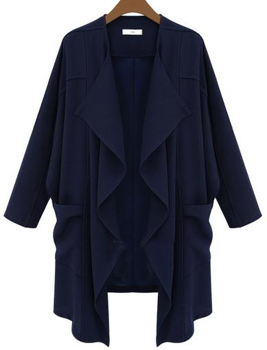 navy_loose_summer_trench_coat_trend_2014