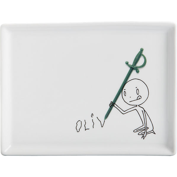 oliver-cocktail-sword-appetizer-plate
