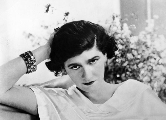 Chanel herself, c.1920 Photograph: Pictures Inc./Time & Life Pictures/Getty Image