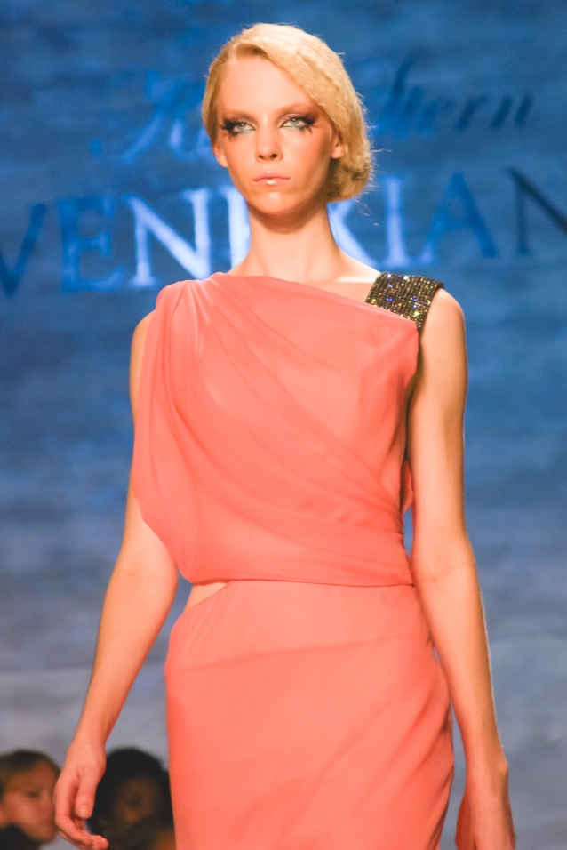 NYFW_kati_stern_venexiana_spring_2015_makeup_coral_gown_fashion_week_2