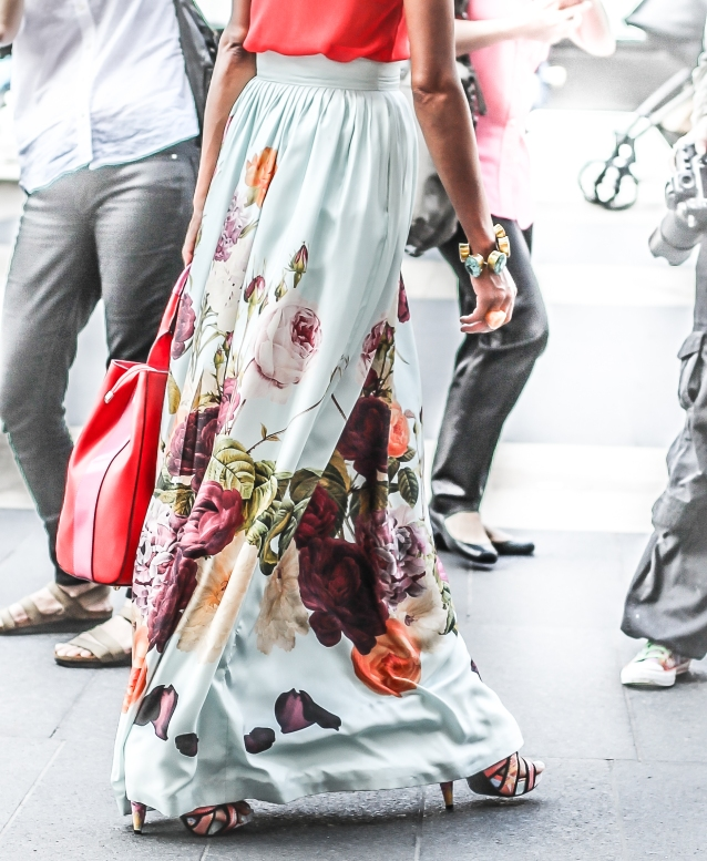 nyfw_street_style_summer_Spring_2015_floral_maxi_skirt