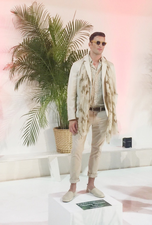 Nick Graham SS17 fashion week Cuban theme Summer spring trend Cuban rolled pants