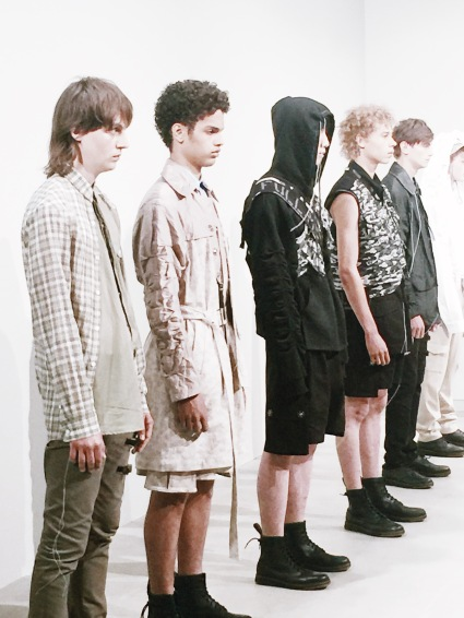 kenneth Ning ss17 deconstruction men's fashion New York